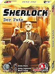 Abacusspiele 48194 Sherlock - Juego de Cartas (Contenido en alemán)
