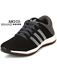 Amico Boy's & Girl's Mesh Running Shoes