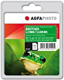 AgfaPhoto APB1100BD Tinte für Brother MFC6490CW, 17 ml, schwarz