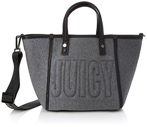 Juicy Couture Tote Handtasche (Juicy by Juicy Couture Damen Arlington Shopper, Grau (Grey Marl), 13x20.5x32 cm)