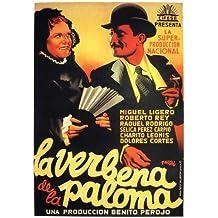 Justo de la paloma Póster de película español 11 x 17 en – 28 cm x