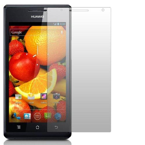 2 x Slabo Displayschutzfolie Huawei Ascend P1 Schutzfolie Folie
