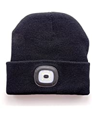OMOUP Bonnet Tricoté LED Beanie Hat Knit Cap Unisexe