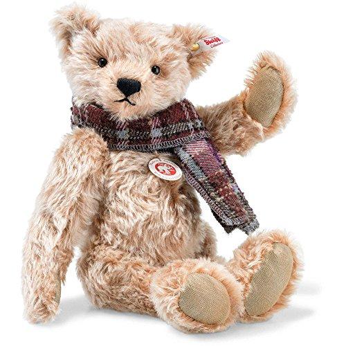 Steiff 006623 Willy Teddybär Mohair zimt gespitzt 33 CM