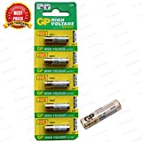 TRP TRADERS 5 Pieces Pack of Original 27A GP 12V Alkaline Battery 12V 27A High Voltage Cell Car Remote Battery, 27A-L5 MN27 V27GA L828 A27 G27A FS