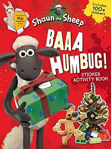 Baaa Humbug! A Shaun the Sheep Sticker Activity Book (Shaun the Sheep Movie Tie-ins) by Aardman Animations Ltd (2015-10-01)