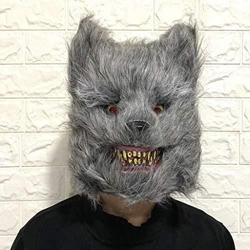 Webla Unheimlich Halloween Wolf Maske Cosplay Kostüm Dekoration Requisiten, Party Dance Party, Pvc (Table Dance Kostüm)