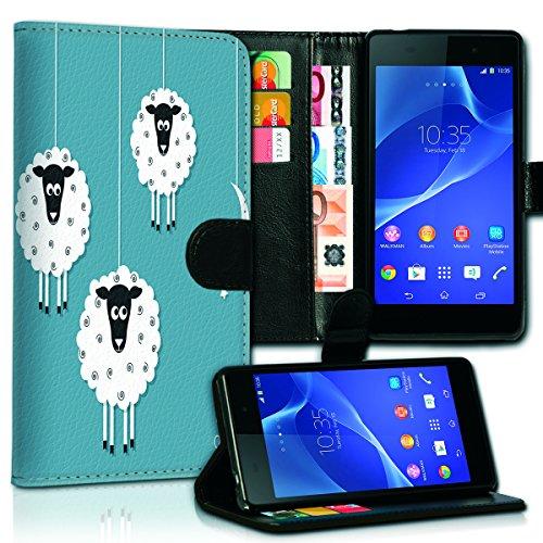 Wallet Book Style Flip Handy Tasche Case Schutz Hülle Schale Motiv Etui für Apple iPhone 6 Plus / 6S Plus - Variante UMV3 Design12 Design 5