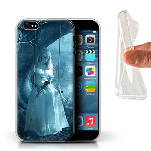 Officiel Elena Dudina Coque / Etui Gel TPU pour Apple iPhone 6S+/Plus / Relation amicale Design / Art Amour Collection Luz Sombra