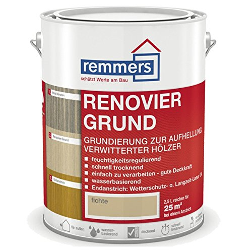 Preisvergleich Produktbild Remmers Renovier-Grund, fichte 2,5 Liter