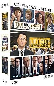 Coffret The Big Short + Margin Call + Le Loup de Wall