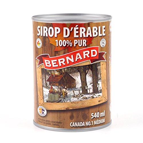 Puro sciroppo d'acero Canadese Grado A in lattina 714g (542ml) - Original maple syrup