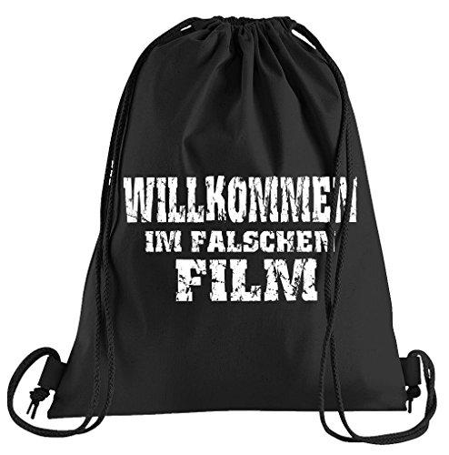 ommen im Falschen Film Sportbeutel - Bedruckter Beutel - Eine schöne Sport-Tasche Beutel mit Kordeln ()