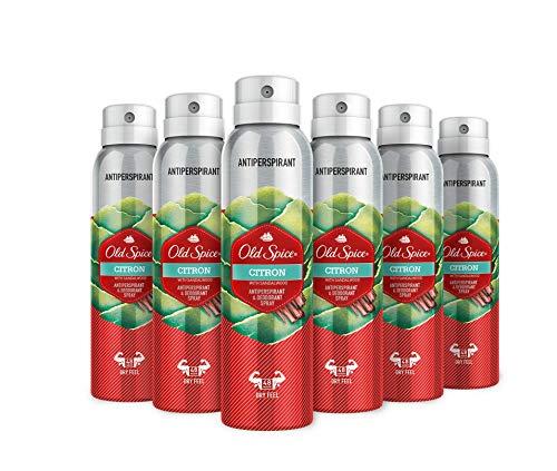 Old Spice Citron - Desodorante Spray antitranspirante