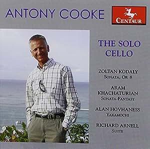 Antony Cooke: the Solo Cello