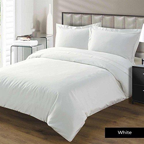 Linenwalas Premium Classic Cotton Single Duvet Cover - White