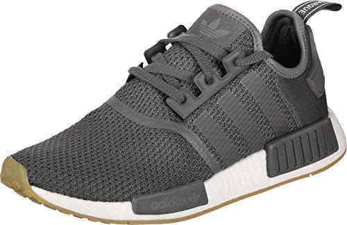 adidas Herren NMD_R1 Gymnastikschuhe, Grau (Grey Five F17/Grey Five F17/Core Black), 44 2/3 EU (Boost-sneaker)