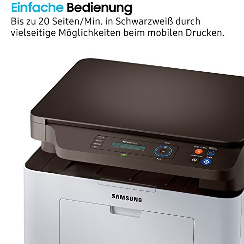 Samsung Xpress SL-M2070/XEC Monolaser-multifunktionsgerät (mit ReCP-Technologie für brillante Ausdrucke) schwarz/silber - 3