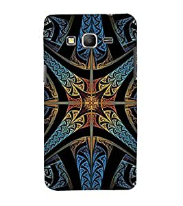 For Samsung Galaxy Grand Prime :: Samsung Galaxy Grand Prime Duos :: Samsung Galaxy Grand Prime G530F G530Fz G530Y G530H G530Fz/Ds Pattern, Black, Amazing Pattern, Lovely Pattern, Printed Designer Back Case Cover By CHAPLOOS