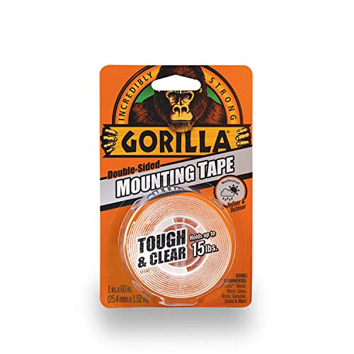 Gorilla 6065101 1 X 60 In. Double Sided Mounting Tape