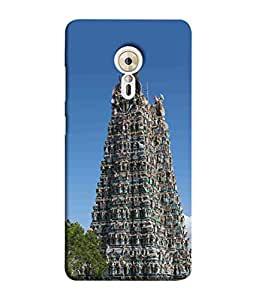 PrintVisa Designer Back Case Cover for Lenovo ZUK Z2 Pro (South India Famous Temple Design)