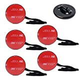 XCSOURCE® Camera Tethers Kit 5x Insurance Tether Straps +3M Sticker Mounting for GoPro Hero 1/2/3/3+ OS36