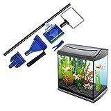 TJW 5in 1Aquarium Aquarium Reinigung Set mit Kies Rake, Fisch-Algen Schaber, Gabel, Schwamm