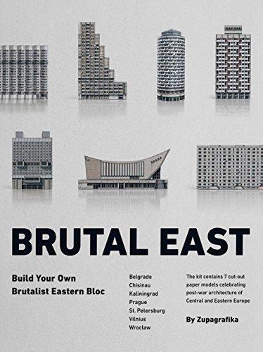 Brutal East: Build Your Own Brutalist Eastern Bloc por Zupagrafika