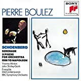 Arnold Schoenberg : Serenade - 5 pièces pour orchestre - Ode à Napoléon [Import USA]...
