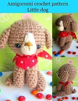 Amigurumi crochet pattern Mike the dog (English Edition) von [jennyandteddy]