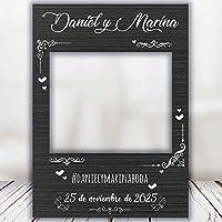 setecientosgramos Photocall Night| Ventana Night | Marco Night | PhotoBooth Night (Cartón 4mm) (90x120)