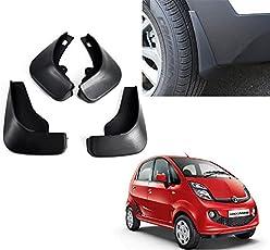 Autopearl O.E Type Car Mud Flap Guard for Tata Nano (Set of 4)