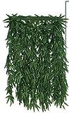 Confettery - Kostüm Hanf Rock Blätter Röckchen Dschungel Dress, Grün
