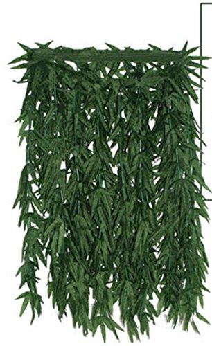 Kostüme Männer Samba Für (Confettery - Kostüm Hanf Rock Blätter Röckchen Dschungel Dress,)