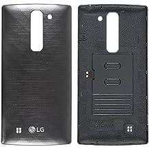 Original LG Batería Tapa Silver/plata para LG G4C h525N (Tapa para batería, Tapa trasera,, Back Cover)–acq88014301