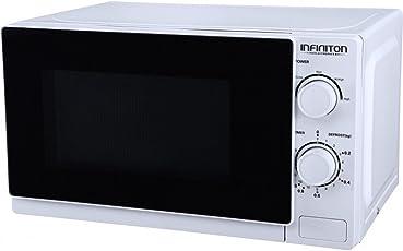 infiniton mw-0115Comptoir du 20L 700W weiß–Mikrowelle (Comptoir du, 20L, 700W, Knöpfe, drehbar, weiß, Knopf)