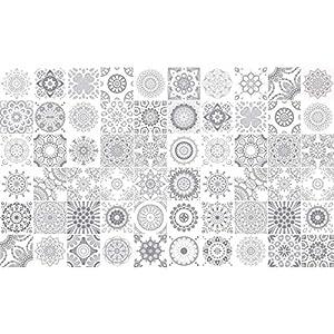 Fliesenaufkleber 10×10 Grau günstig online kaufen | Dein Möbelhaus