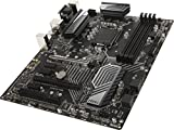 MSI Intel 1151 Socket Z370 Chipset Tomahawk D4 ATX Motherboard - Black