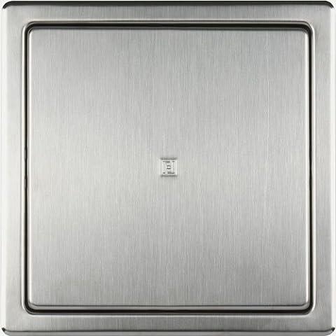 Haco Panneau d'accès avec cadre en acier inoxydable brossé de 150 x 150 mm