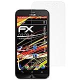 atFolix Schutzfolie kompatibel mit Asus ZenFone Go ZB500KL Bildschirmschutzfolie, HD-Entspiegelung FX Folie (3X)