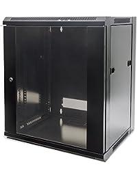 "Intellinet 711937 Freestanding rack 60kg Black rack - racks (60 kg, Freestanding rack, 15U, Black, 48.3 cm (19""), SPCC)"