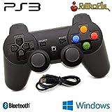 Wireless Controller Gamepad PS3Bluetooth Kompatibel PC und retropie