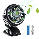 Stanbow Kleiner USB Ventilator Ultra Leise, Mini Tischventilator Lüfter für den Schreibtisch, Zuhause, Büro und Zimmer