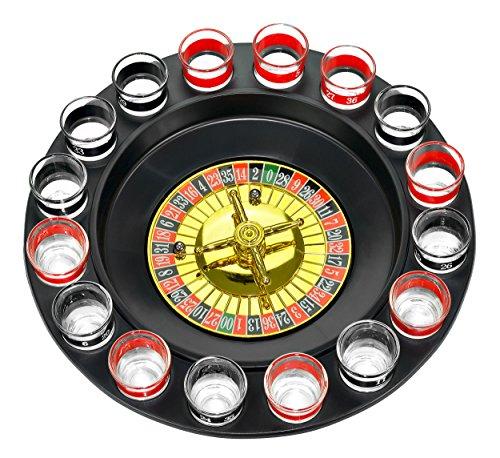 Wanted HY0383 Drink Roulette - Ruleta con vasos de chupito