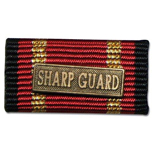 Ordensspange Auslandseinsatz SHARP GUARD bronze