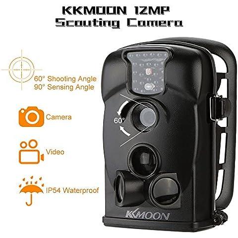KKmoon 12MP 720P HD 940nm IR Videocamera Fotocamera da Caccia