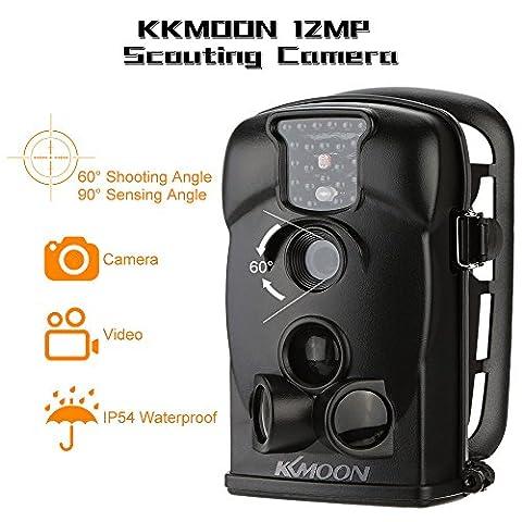 KKmoon 720p Caméra de Chasse HD 940nm IR étanche Jeu