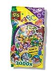 SES creative 00773 - Bügelperlen Mix 3000 Stück perlmut