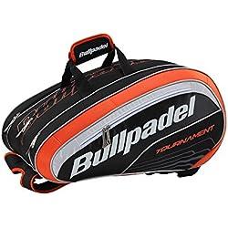 Bullpadel BPP16002 - Bolsa, color negro/naranja, 58x30x30 cm