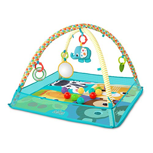 Bright Starts - Tapis de jeu More-in-One Ball Pit Fun
